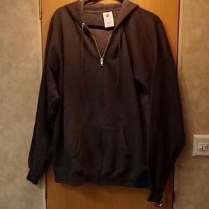 Hanes grey extra large hoodie